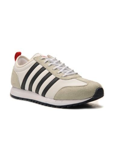Bulldozer 211463 Erkek Spor Ayakkabı Beyaz